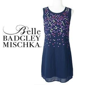 ⭐️ Badgely Mischka Crêpe Dress ⭐️